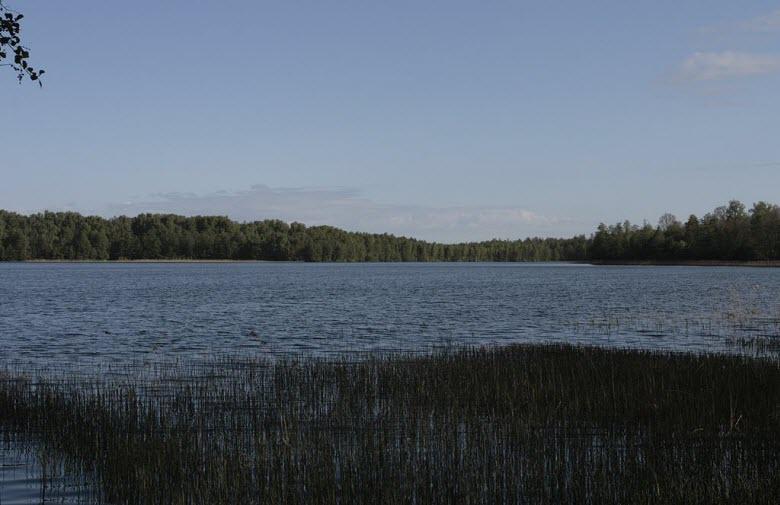 Глубокое озеро в Московской области