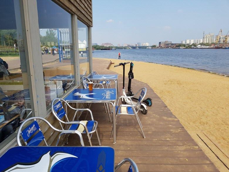 пляж Химкинского водохранилища