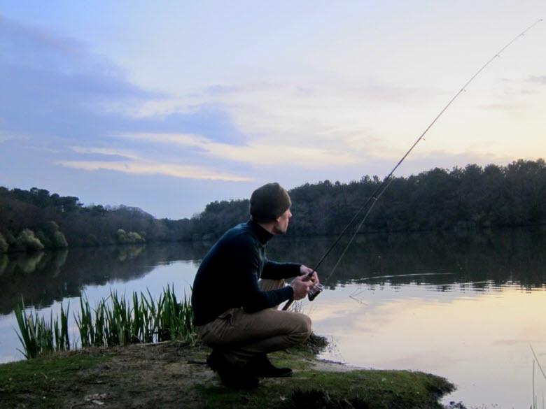 рыбалка на Глубоком озере
