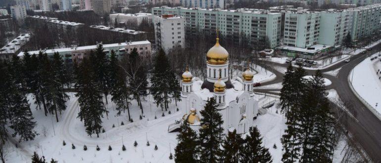 Архангельский храм в Краснознаменске