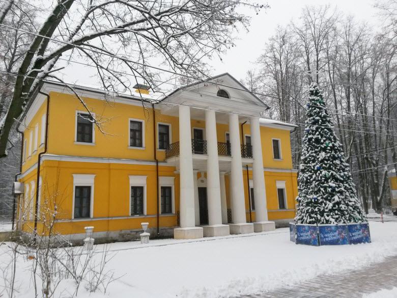 фото имения зимой