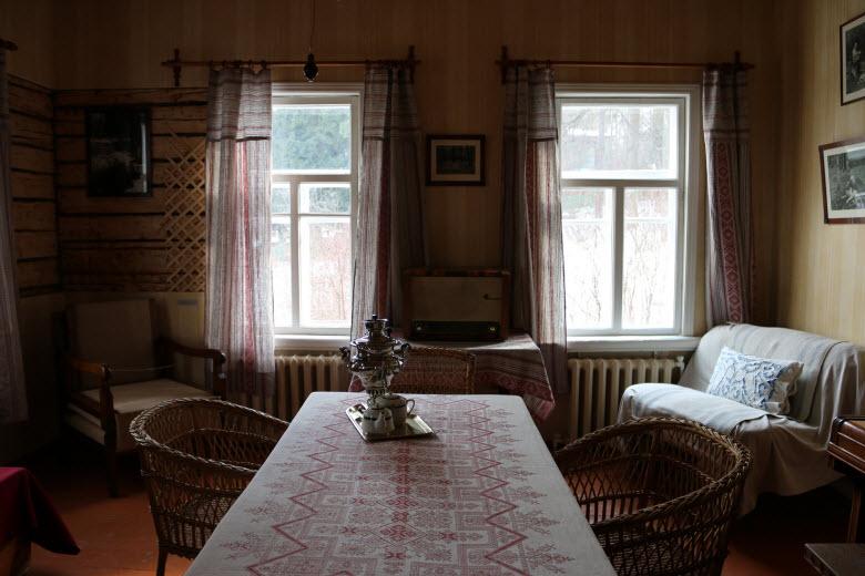 фото внутри музея Пришвина