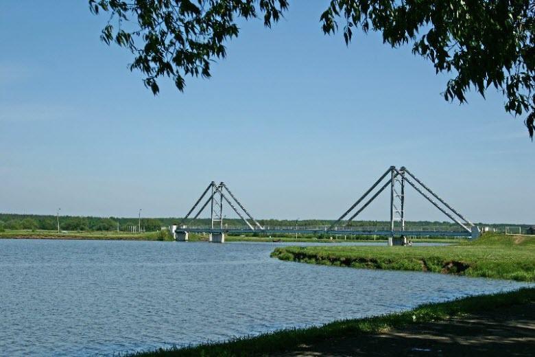 Крымский мост на Бельском озере