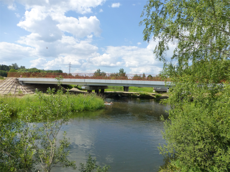 мост на реке Уча