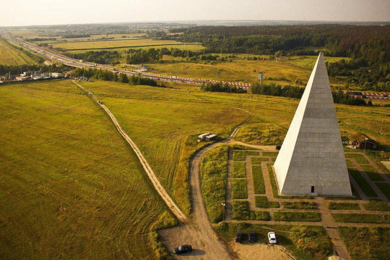 разрушенная пирамида Голода
