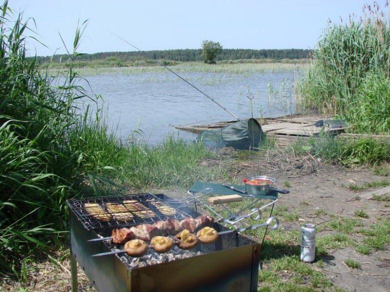 рыбалка на Асаково