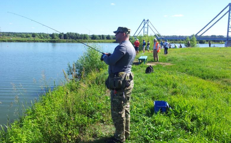 рыбалка на Бельском