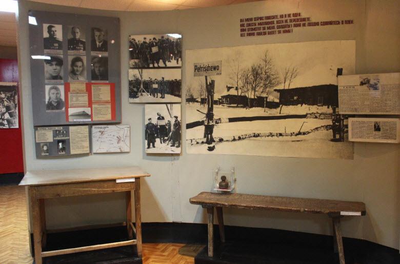 внутри музея Космодемьянской