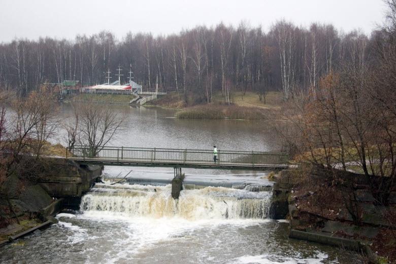 водопад на реке Сестра