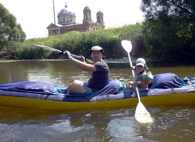 сплавы на реке Северка